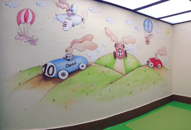 Dibujos Para Paredes Interiores Dibujos Para Paredes Dormitorios - Dibujos-pared-infantil