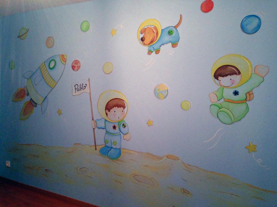 pintura de paredes infantiles