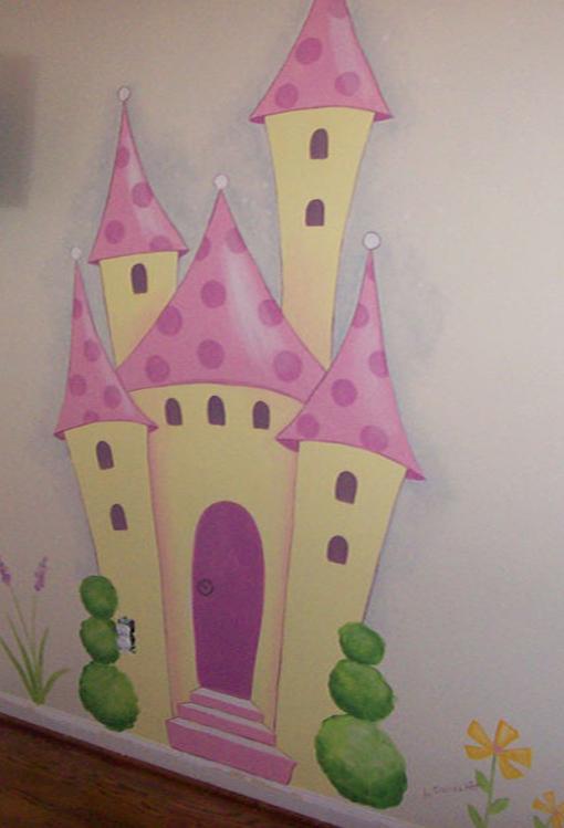 Decoraci n de paredes pintura mural decorativa - Como pintar un mural infantil en la pared ...