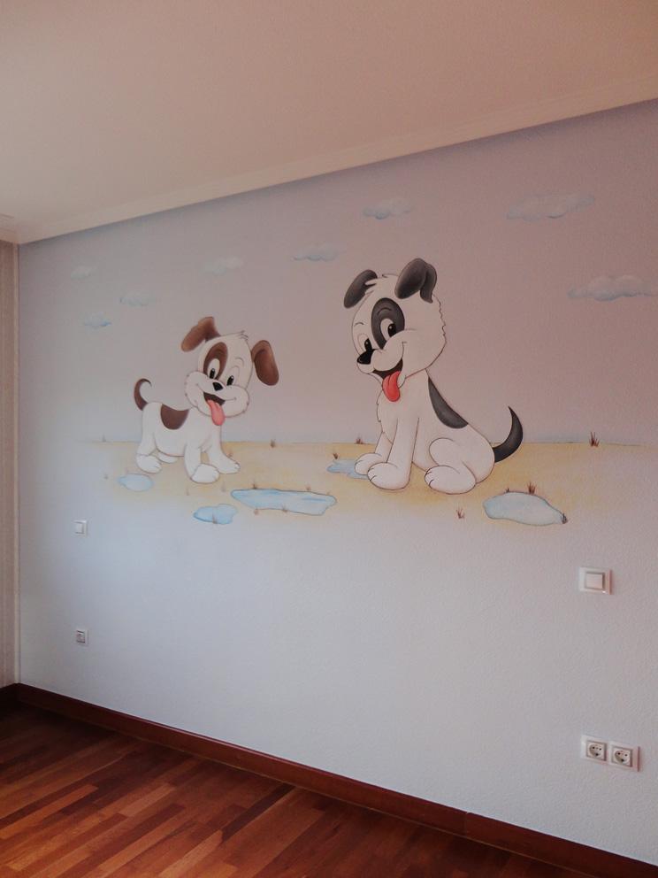 Murales infantiles murales pintados a mano sobre paredes - Decoracion con pinturas en paredes ...
