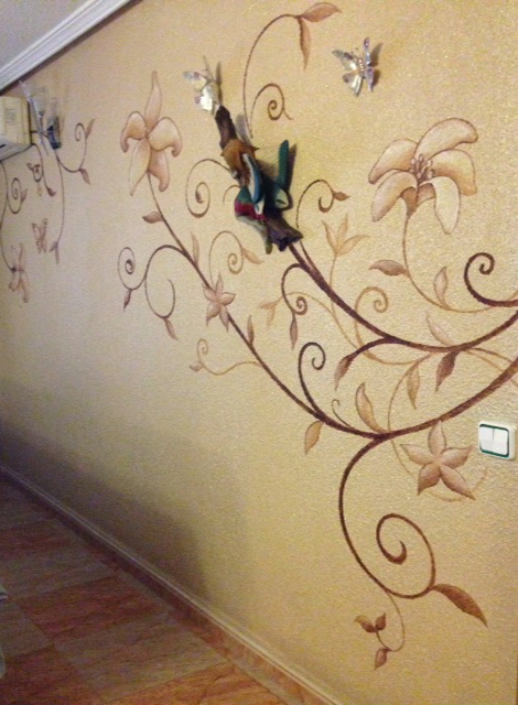 pintura de pared para decorar