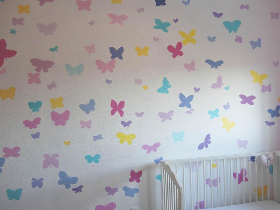 Murales infantiles murales pintados en paredes murales for Alcobas infantiles para nina