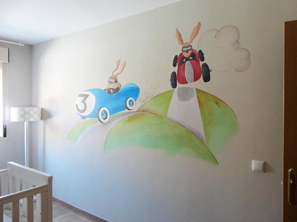Murales infantiles pintados mano sobre paredes quotes for Murales de pared pintados