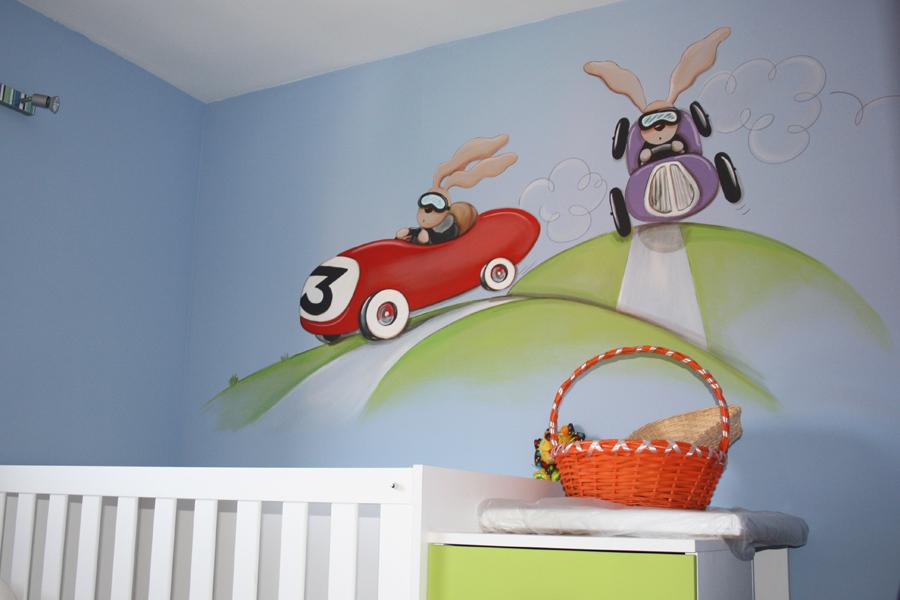Murales infantiles murales pintados en paredes murales - Decoracion pared ninos ...