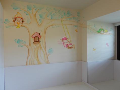 Murales Infantiles Murales Pintados A Mano Sobre Paredes Murales - Dibujos-pared-infantil