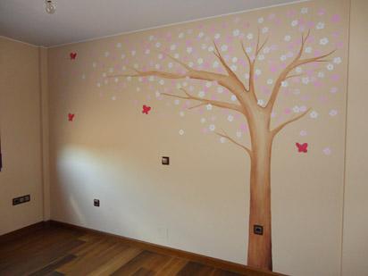 Murales conejitos ositos y ratoncitos para bebes for Murales pared baratos