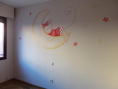 Murales infantiles pintados sobre paredes decoracion - Murales infantiles pintados a mano ...