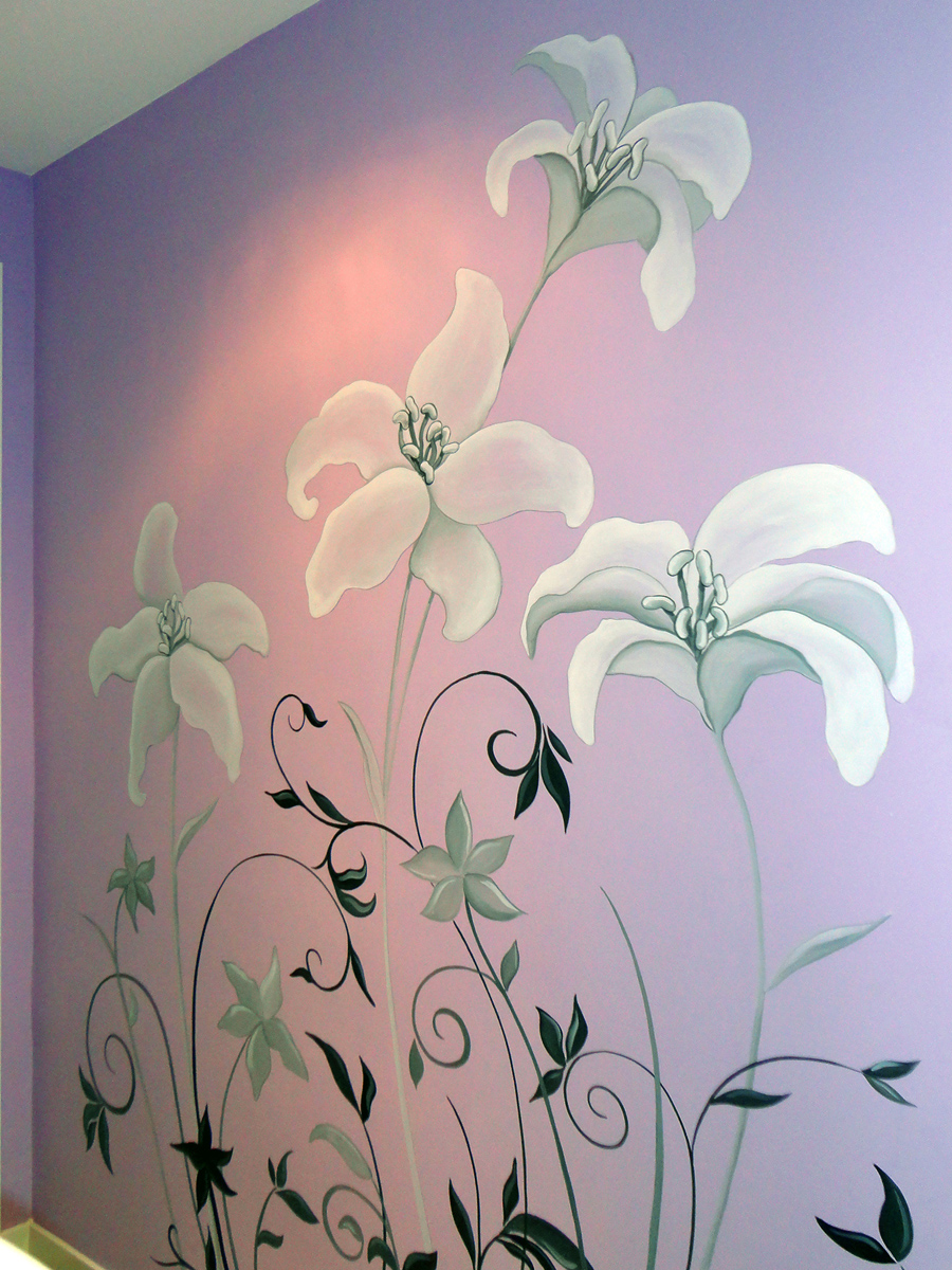 Pintura mural decorativa murales pintados a mano alzada - Murales pintados a mano ...