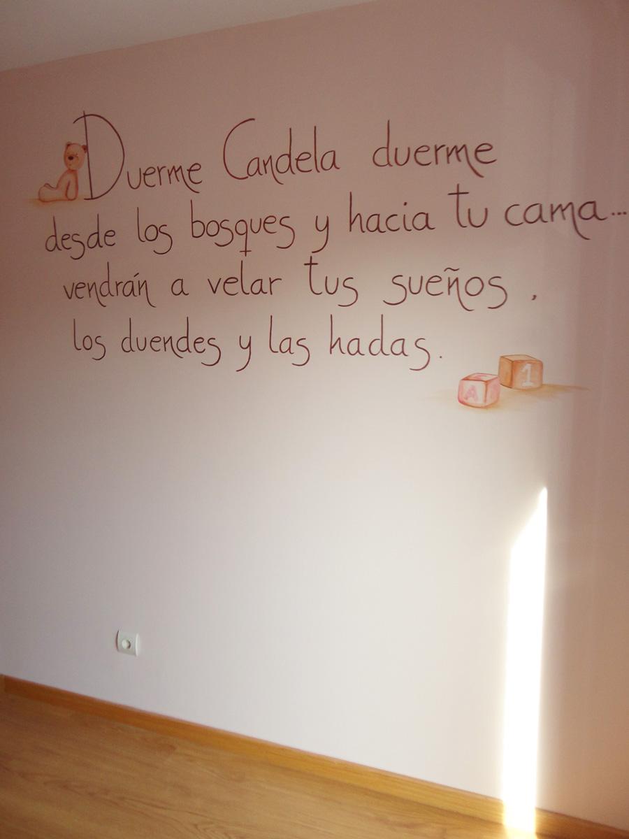 Murales infantiles murales pintados a mano sobre paredes for Mi habitacion huele a humedad