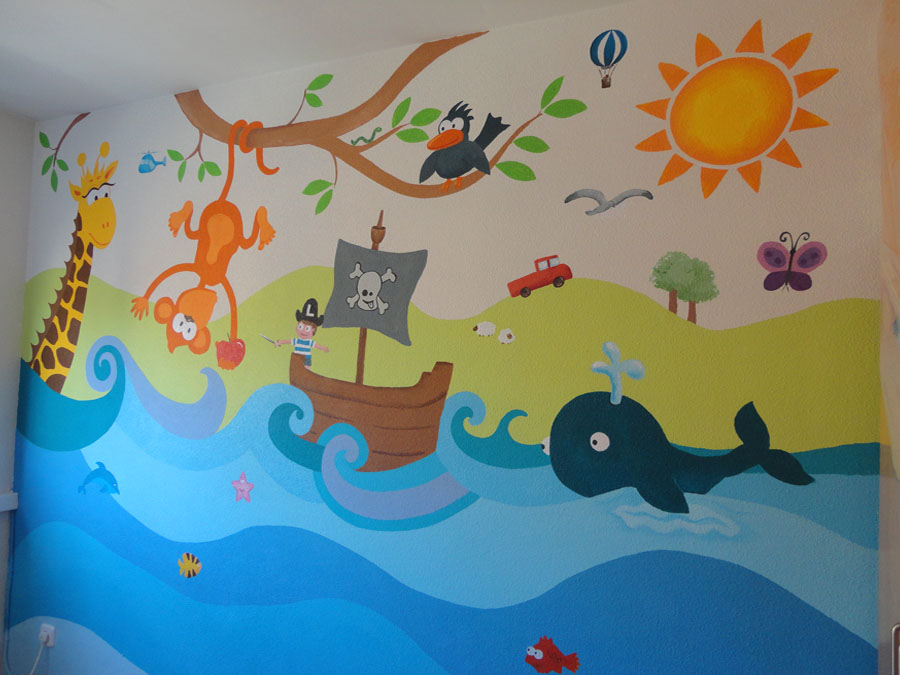 Murales infantiles para paredes tattoo design bild for Comprar murales para pared