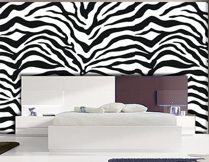 Pintura mural decorativa murales pintados a mano alzada - Decoracion en cebra ...