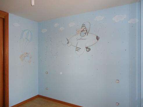 Murales Y Vinilos Para Habitaciones Infantiles.Murales Infantiles Murales Pintados A Mano Sobre Paredes