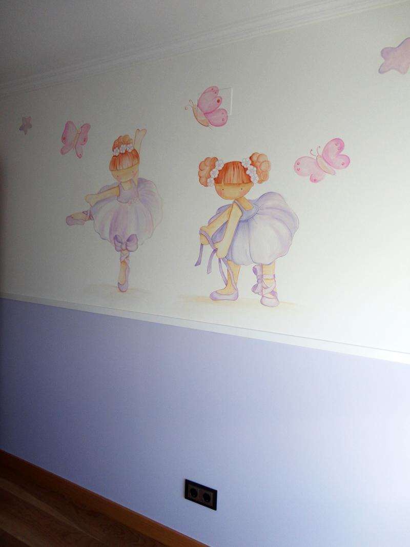 Murales Pintados A Mano Sobre Paredes Murales Para Bebes Murales En