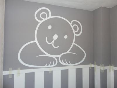 Murales infantiles murales pintados a mano sobre paredes murales para bebes murales en - Dibujos en paredes ...