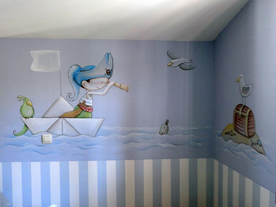 murales infantiles murales pintados a mano sobre paredes