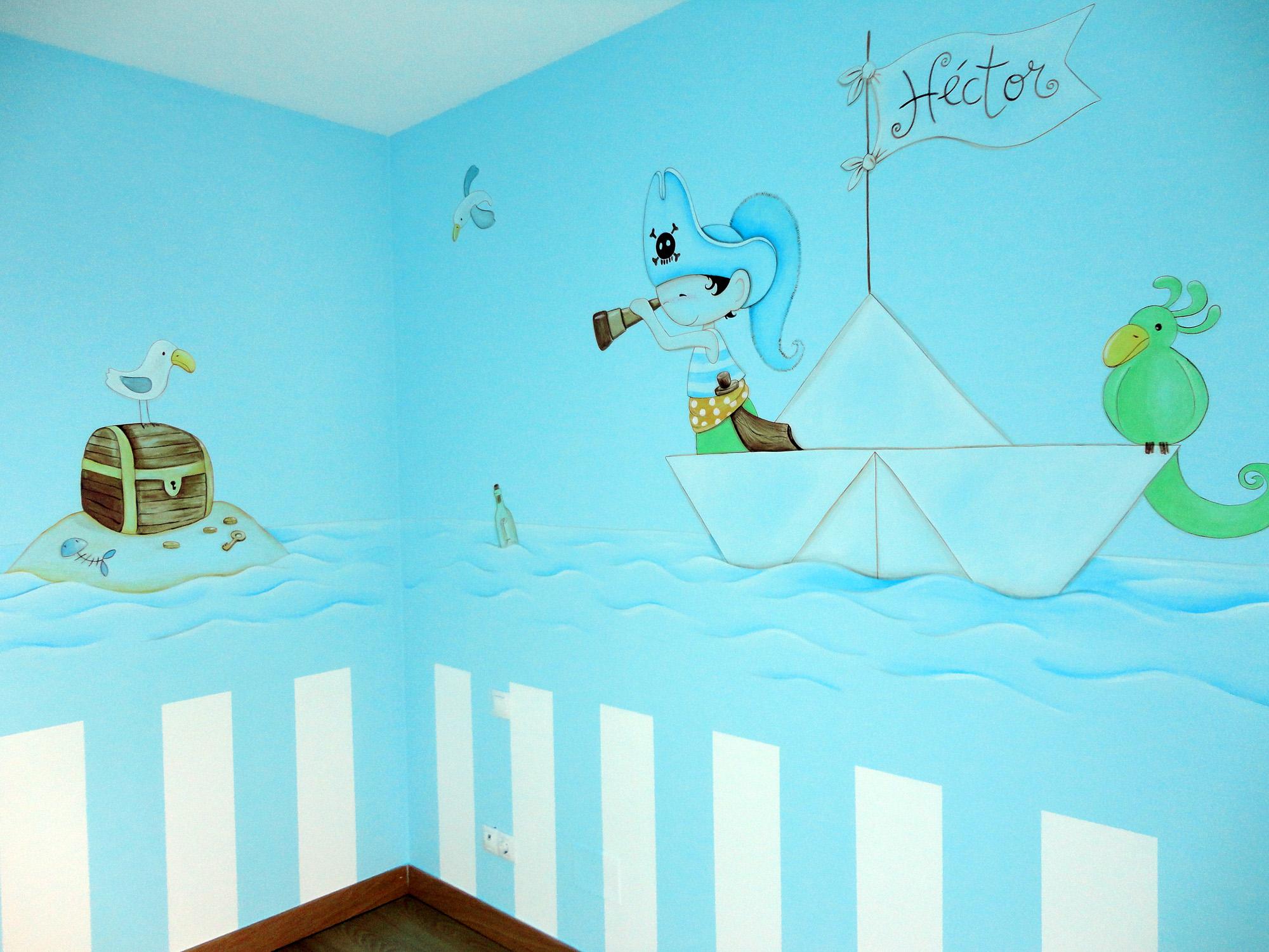 Murales infantiles murales pintados en paredes murales for Murales pared baratos