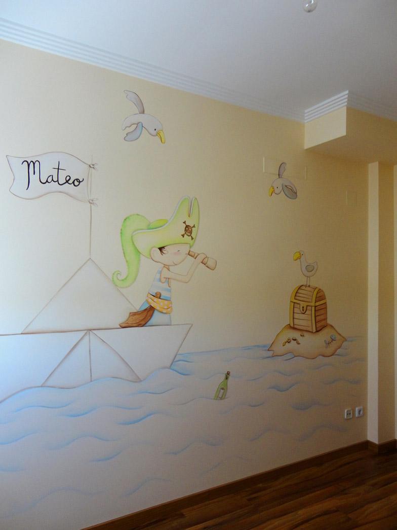 Murales infantiles murales pintados en paredes murales - Decoracion paredes habitacion infantil ...