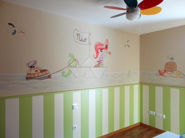 Murales Infantiles Murales Pintados En Paredes Murales En