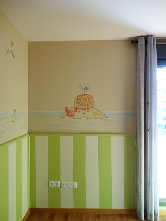 Murales infantiles murales pintados en paredes murales - Dibujos para paredes infantiles ...