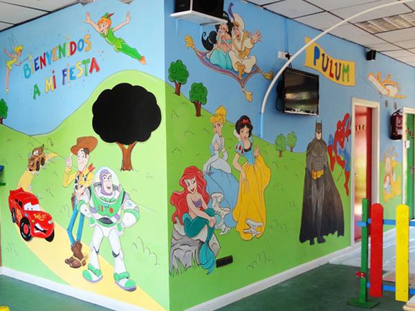 Murales Infantiles Murales Pintados A Mano Sobre Paredes Murales