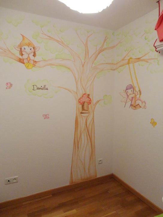 Murales Infantiles Murales Pintados A Mano Sobre Paredes Murales Para Bebes Murales En