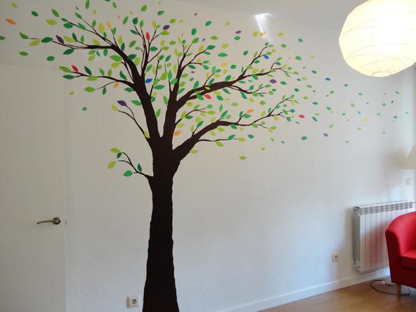 Murales infantiles murales pintados a mano sobre paredes - Como pintar una pared ya pintada ...