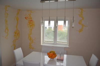 Dibujos en paredes interiores stunning paredes interiores - Murales para cocina ...