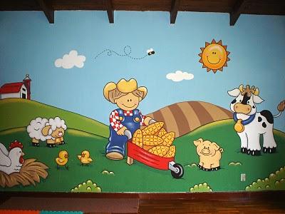 Decoración de paredes, pintura mural decorativa, dormitorios ...